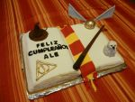 HARRY POTTER cake by Marce07