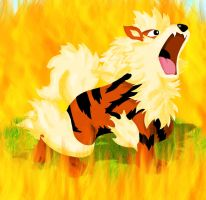 Arcanine by magicalyuki
