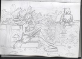 sketch page - the feeling of Paradise by by-MK