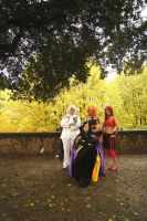 Sailor Moon Villains Group 07 by LizCosplay1982