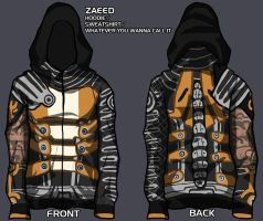 zaeed hoodie - give me your input! by lupodirosso