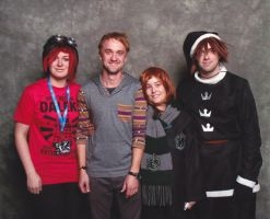 photo op with Tom Felton by Kitamon