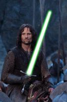 Aragorn Lightsaber by GeneralLee1807