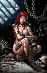 Red Sonja 61 cover by wgpencil