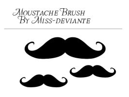 Moustache Brush by Miss-deviantE