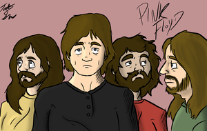 Pink Floyd (Colored) by TateShaw