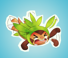 Request: Chespin's Tantrum by DaDonYordel
