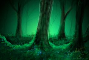 Mystery forest by Bombuska