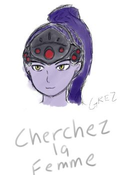 Widowmaker  by Grezling