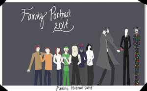Pasta Family Portrait 2014 by Lillian-Burgess