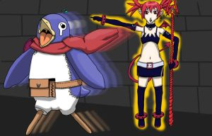 Run Prinny, Run by Bisected8