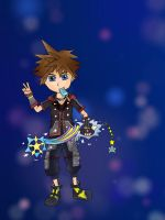 Sora Kingdom Hearts 3 Outfit by BladeofDust