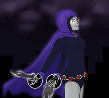 Raven (Request from SatoshiTakeo) by ZombieGurrlie