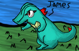 James the totodile by iluky