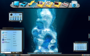 Aqualix Desktop by a666a