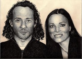 Tarja and Marcelo by whutnot