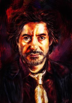 Robert Downey Jr. by Shadowsprint