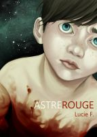 Illustration Astre Rouge by luciehyef