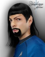 Mirror Spock by kayleightalitha