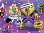Thanos Universes by GingerBaribuu