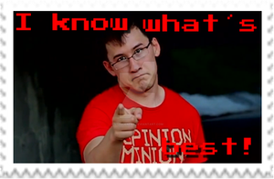Markiplier - I know what is best! Stamp by SteffieNeko
