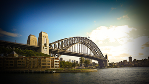Sydney Harbour Bridge by natosaurus