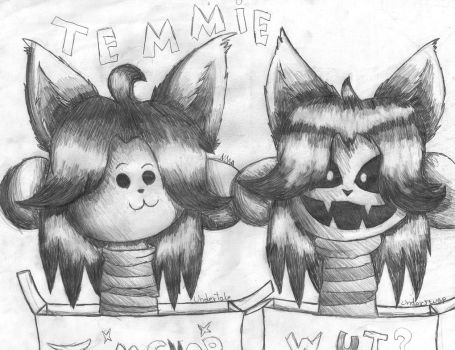 TEMMIE! (Undertale/Underswap) by Natirchana12