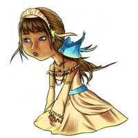 .:Gaia:. belle diamante by The-Doodle-Master