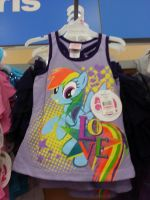 MLP: FiM Rainbow Dash Love T-Shirt by soniclover2468