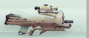 Assault Rifle by ivangraphics