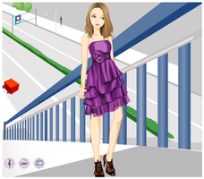Girly Ruffle - Dress up Game by willbeyou