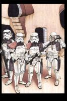 Sandtroopers by ragelion