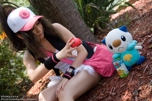 Touko: Pokemon Black and White by CHR0NIE