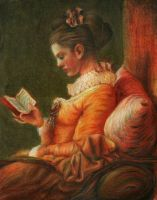 Fragonard's Reader by AnnaSulikowska