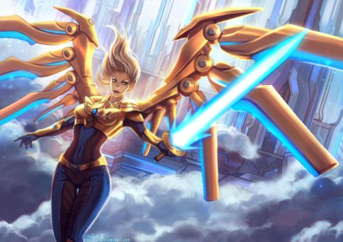 Aether Wing Kayle by Enijoi