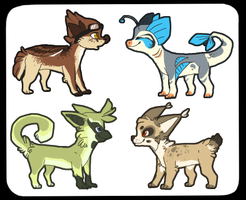 pixel-paws designs by Redrie