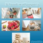 5 food wallpapers by BrunoEdits