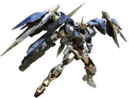 Gundam 00 Raiser by sandrum