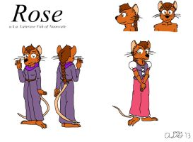 Rose Reference Sheet and Bio by Gardboyz-Productions