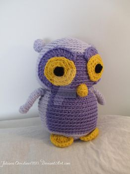 Crochet Owl by JulianaChristine1760