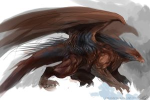 Speedpaint - Dragon Hybrid by DefiledVisions