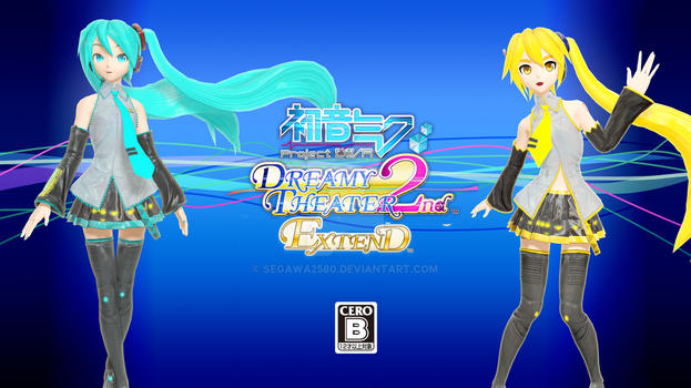 .: Project DIVA Dreamy Theater 2nd Extend :. by segawa2580