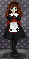 Gothic lolita -colour- by girlinblack