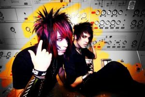 Dahvie and Jayy color and gray by RavenVonRiot