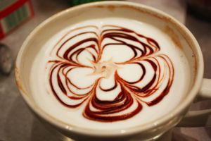 Chocolate Flowered Latte by MochaCat