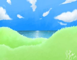 Sky, Land And Sea by Dragonikku