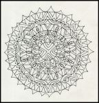 mandala open collaboration project by crazyruthie