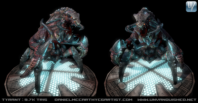 Tyrant Render 01 (Tremulous) by Dandoombuggy