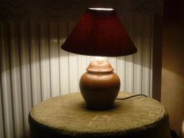 a lamp by indeed-stock