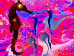 the seahorse 2 by strange-art-gallery